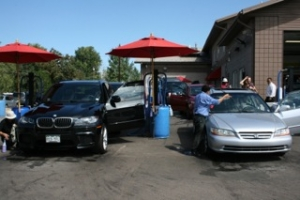 car care at the car wash