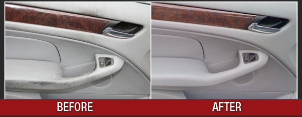 Worn door panel? Jazz will make it look new again. Check out this before and after.
