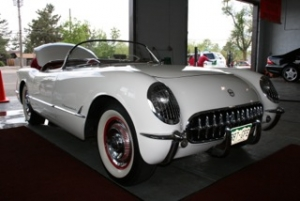 classic white convertible, car care
