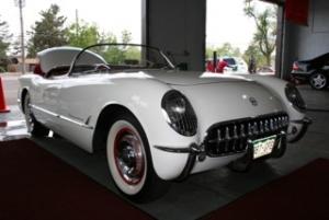 classic white convertible, car care